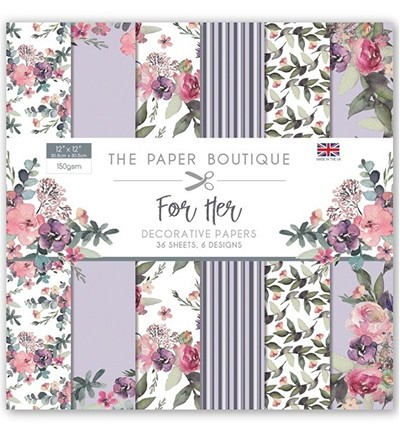 PB1099 - For Her paperpad 12 x 12
