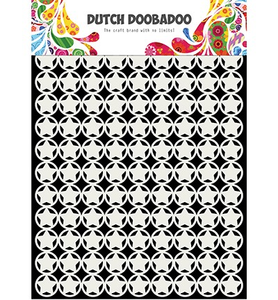 470715135 - Dutch Doobadoo Mask Art stars