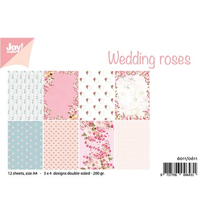 6011/0611 - Design Wedding roses paperpad