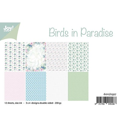 6011/0597 - Birds in Paradise paperpad