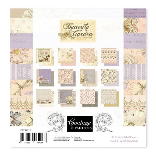 Butterfly Garden - 6 x 6 Paper Pad (24pc)