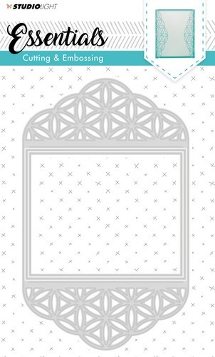 Studio Light Embossing Die Cut Stencil Essentials nr.168