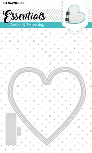 Studio Light Embossing Die Cut Stencil Essentials nr.166