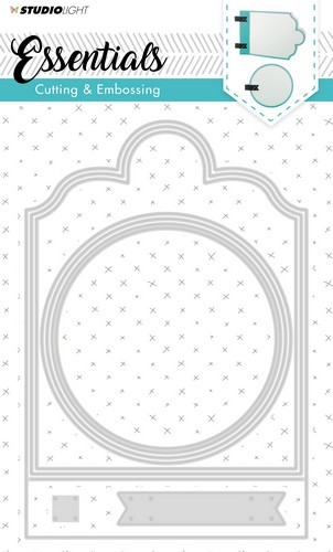 Studio Light Embossing Die Cut Stencil Essentials nr.165