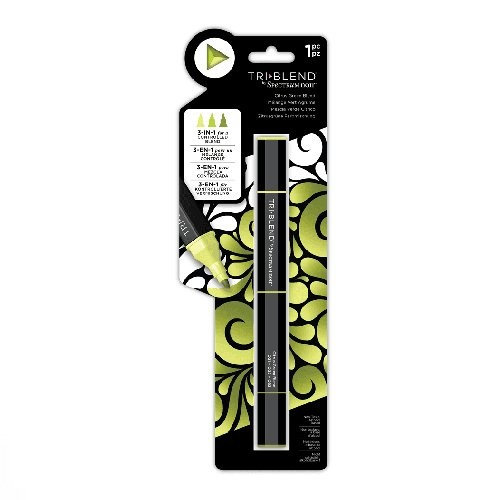 Spectrum Noir TriBlend Marker – Citrus Green Blend