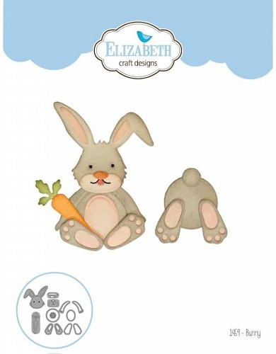 Elizabeth Craft Designs dies Bunny 1459
