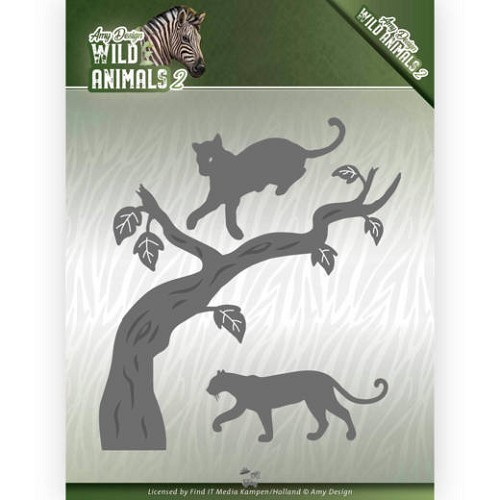 Dies - Amy Design - Wild Animals 2 - Panther