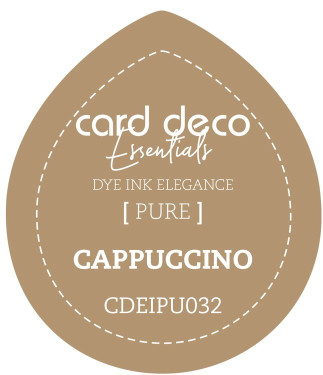 Card Deco Essentials Fade-Resistant Dye Ink Cappuccino