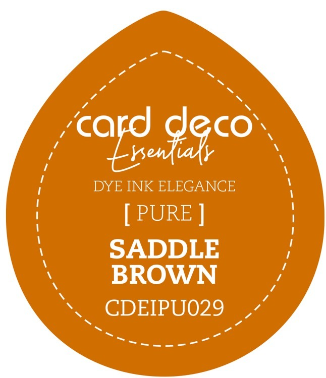 Card Deco Essentials Fade-Resistant Dye Ink Saddle Brown
