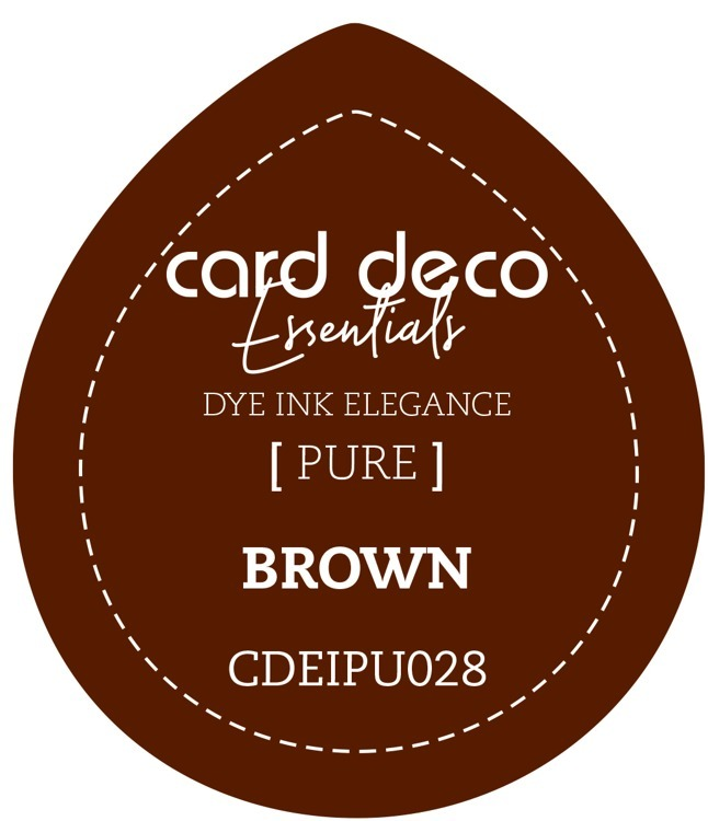 Card Deco Essentials Fade-Resistant Dye Ink Brown