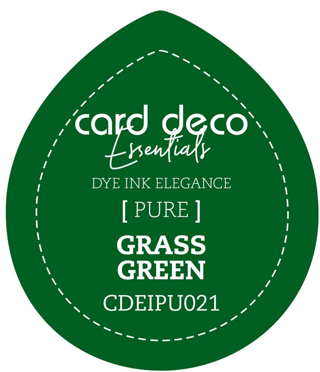 Card Deco Essentials Fade-Resistant Dye Ink Grass Green