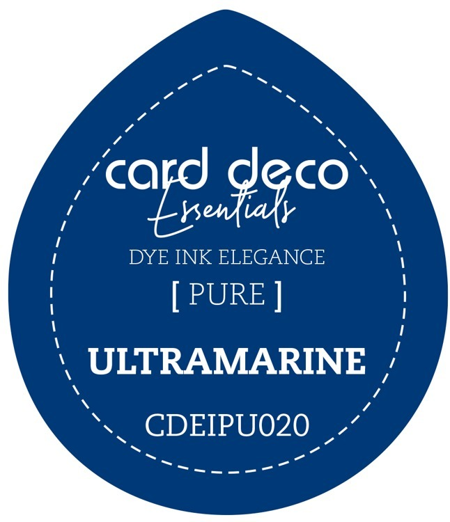 Card Deco Essentials Fade-Resistant Dye Ink Ultramarine