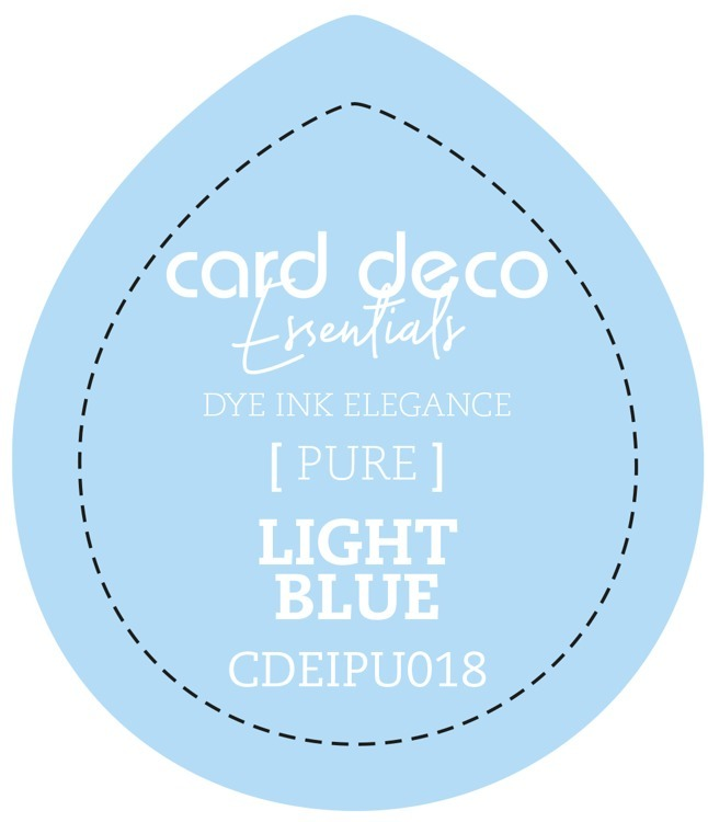 Card Deco Essentials Fade-Resistant Dye Ink Light Blue
