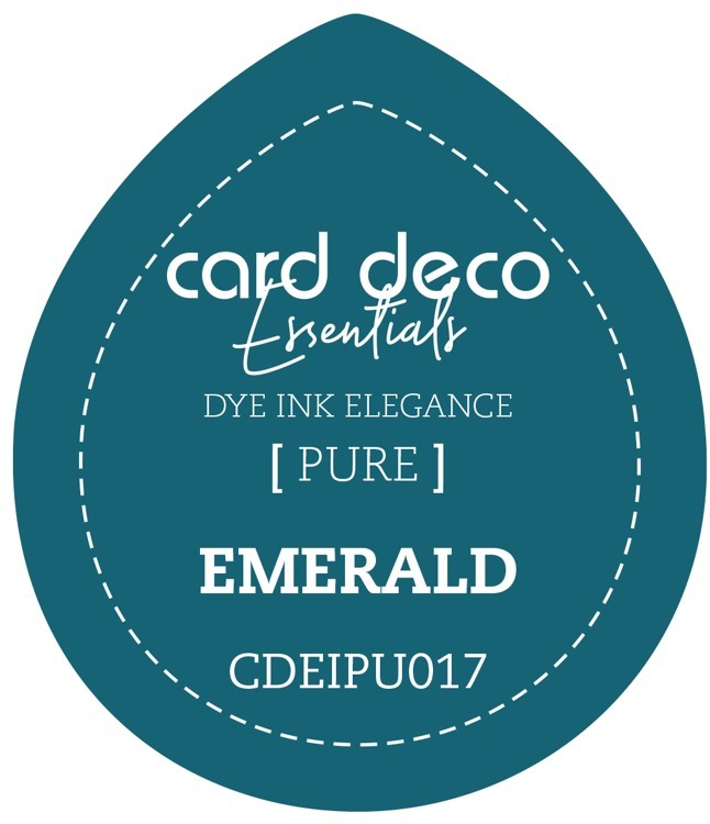 Card Deco Essentials Fade-Resistant Dye Ink Emerald
