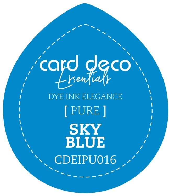 Card Deco Essentials Fade-Resistant Dye Ink Sky Blue