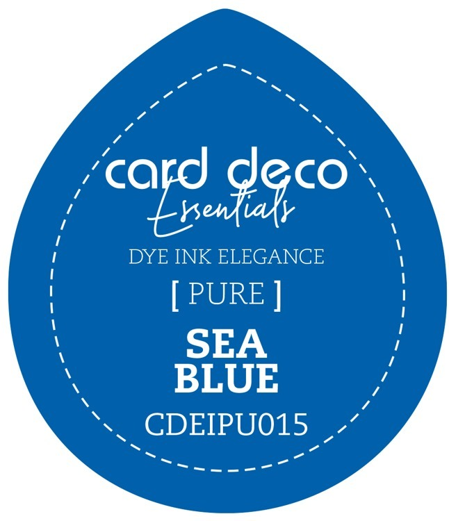 Card Deco Essentials Fade-Resistant Dye Ink Sea Blue