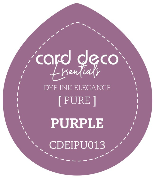 Card Deco Essentials Fade-Resistant Dye Ink Purple