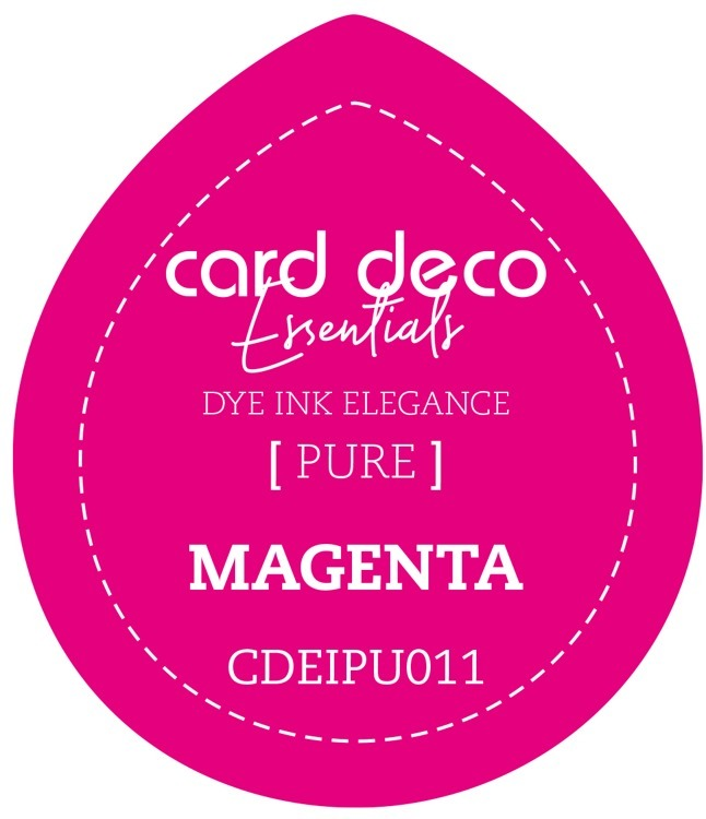 Card Deco Essentials Fade-Resistant Dye Ink Magenta