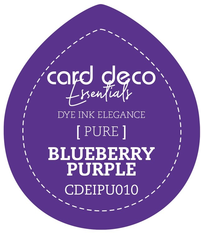 Card Deco Essentials Fade-Resistant Dye Ink Blueberry Purple