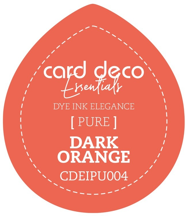 Card Deco Essentials Fade-Resistant Dye Ink Dark Orange