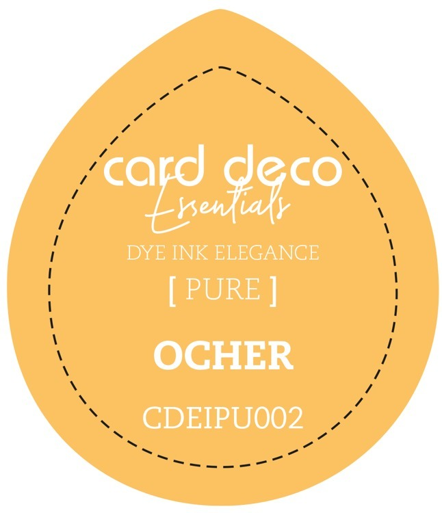Card Deco Essentials Fade-Resistant Dye Ink Ocher