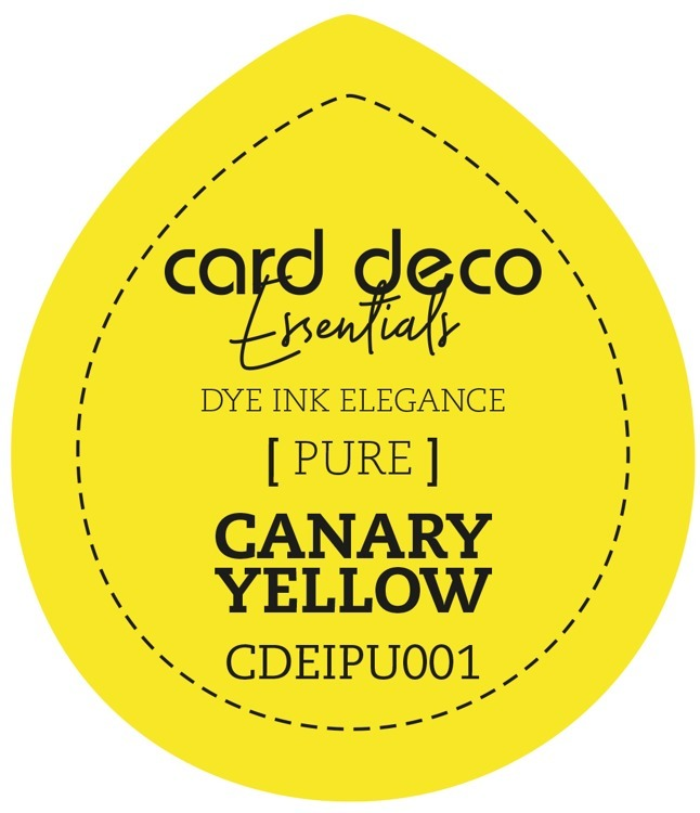 Card Deco Essentials Fade-Resistant Dye Ink Canary Yellow