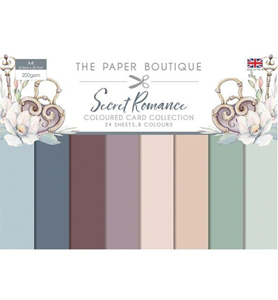Secret Romance Colour Card Collection
