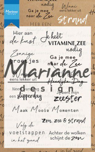 Marianne D Clear Stamps Strand (NL) CS1024
