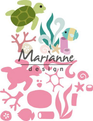 col1468 Marianne D Collectable Sealife by Marleen 108x85,5 mm (06-19)
