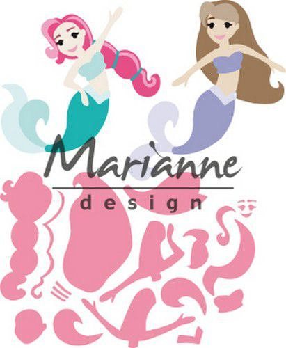 col1467 Marianne D Collectable Mermaids by Marleen COL1467 121x102,5 (06-19)