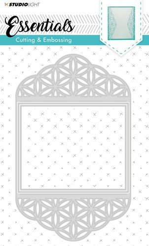 Studio Light Embossing Die Cut Stencil Essentials nr.168 STENCILSL168 (03-19)