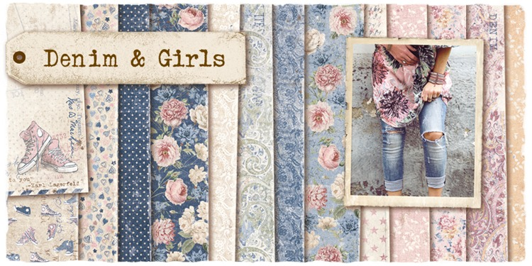 Maja design denim & girls komplete serie