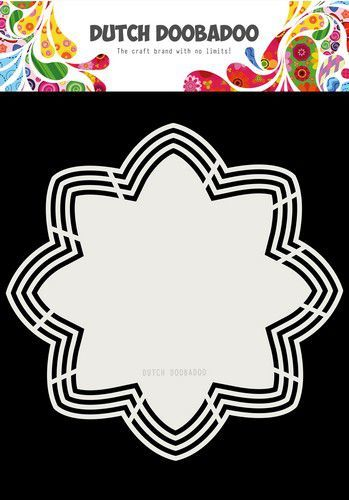 Dutch Doobadoo Dutch Shape Art Octo Flower 21x21 470.713.177 (06-19)
