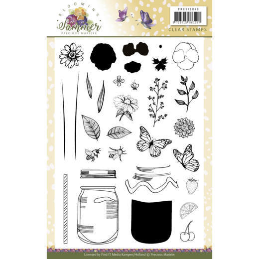 Clear Stamps - Precious Marieke - Blooming Summer
