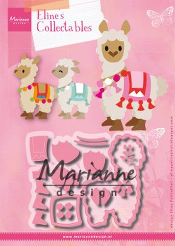col1470 Marianne D Collectable Eline's Alpaca COL1470 98x77mm (07-19)