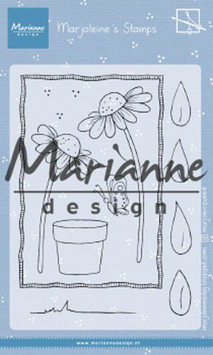 mz1903 Marianne D Clear Stamps Marjoleine's daisies MZ1903 105x148mm (07-19)