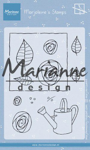 mz1901 Marianne D Clear Stamps Marjoleine's roses MZ1901 105x148mm (07-19)