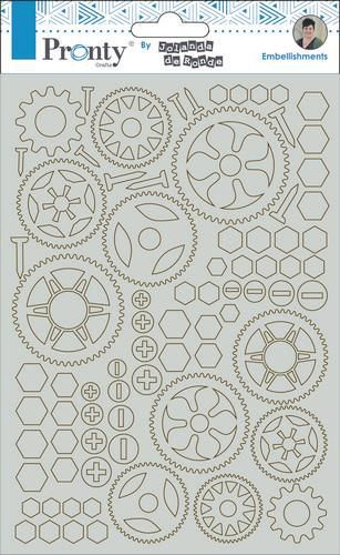 Pronty Chipboard Gears A5 492.010.002 by Jolanda (07-19)