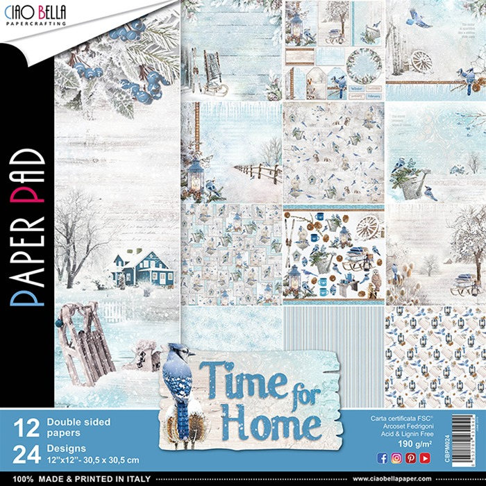 Time for Home Ciao Bella paperpad