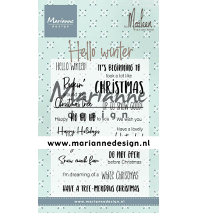 CS1037 - Hello winter by Marleen