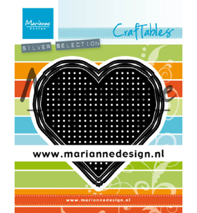 CR1482 - Cross Stitch Heart