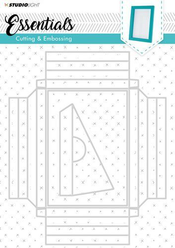 Studio Light Embossing Big Frame Dies Essentials nr.209 STENCILSL209 (08-19)