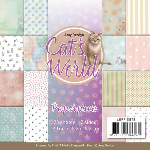Paperpack - Amy Design - Cats World