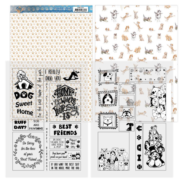 Mica Sheets - Amy Design - Dog's Life