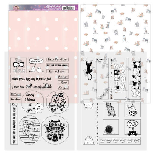 Mica Sheets - Amy Design - Cats World