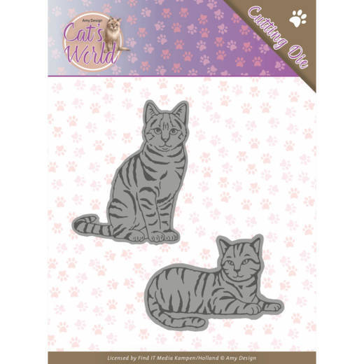 Dies - Amy Design - Cats - Sweet Cats