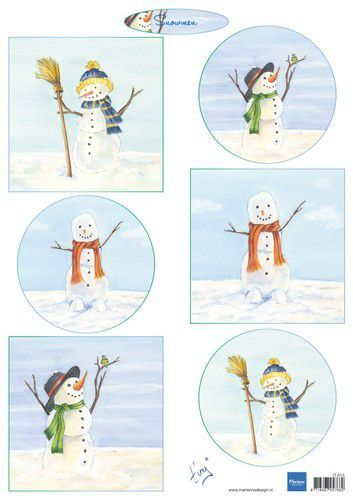 IT613 Marianne D Knipvellen Tiny's Snowmen