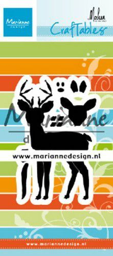 cr1485 Marianne D Craftable hert by Marleen