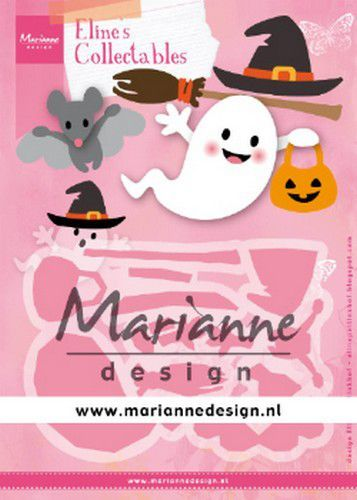 Col1473 Marianne D Collectable Eline's Halloween COL1473 164x52mm, 55x36mm (10-19)