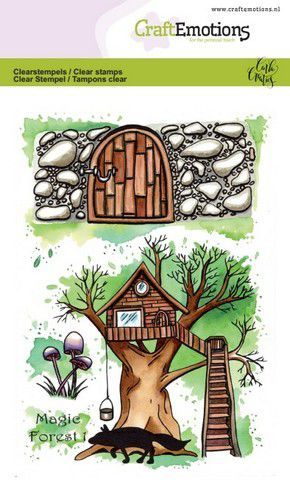 CraftEmotions clearstamps A6 - Magic Forest 1 Carla Creaties